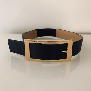Express Accessories - Express Oversized Rectangle Buckle Belt